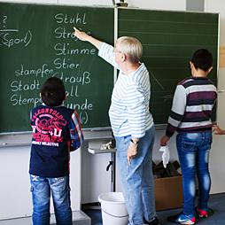 Sprachförderung von Flüchtlings- und Migrationskindern