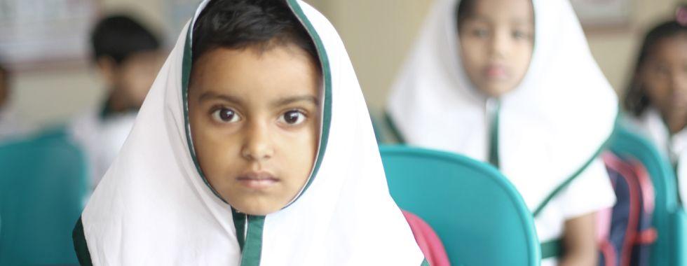 """Schulprojekt """"Bikash"""" für arme, blinde und körperbehinderte Kinder"""