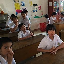 Bauliche Erweiterung einer Schule für körperlich und geistig benachteiligte Kinder in Vietnam