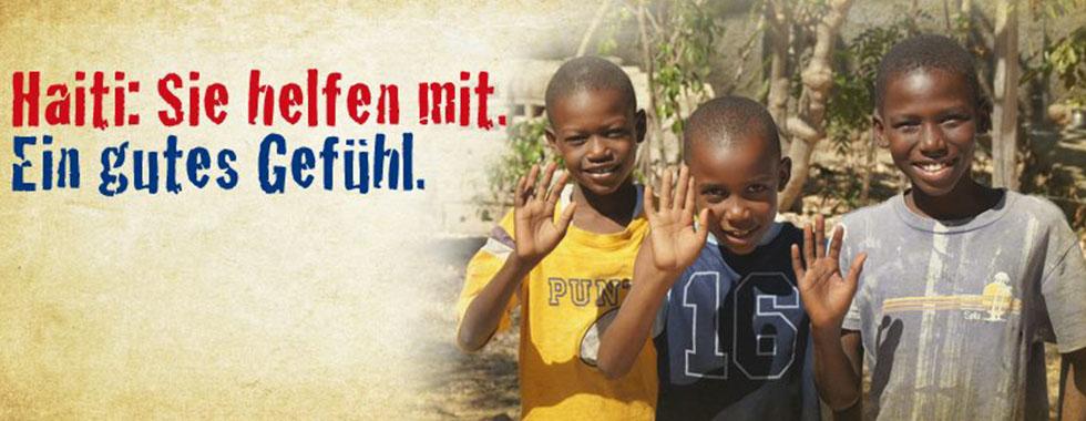Schulneubau Haiti